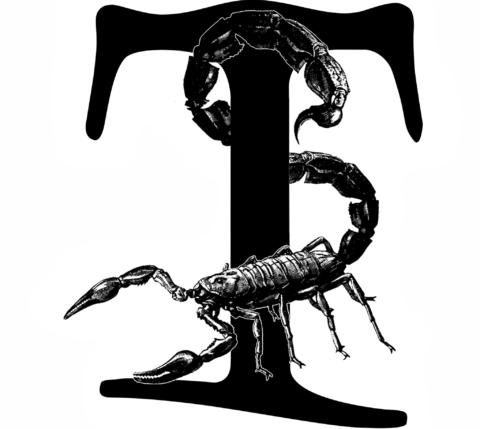 Tarnished Scorpio Logo