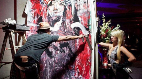 Red Zebra Presented by Robert Vargas
