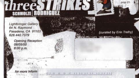 3 Strikes   Postcard
