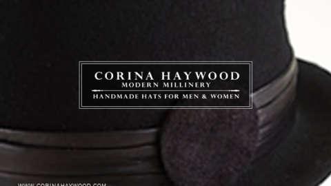 Corina Haywood Modern Millinery   Postcard