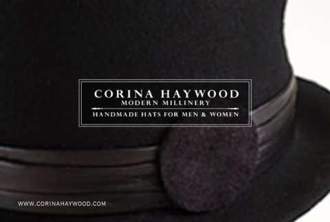 Corina Haywood Modern Millinery | Postcard