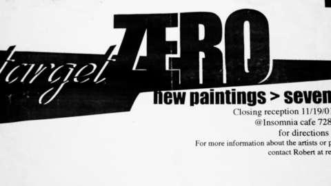 Target Zero Art Show