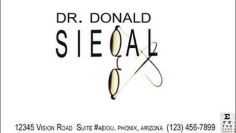 Dr. Donald Siegel Logo Exploration