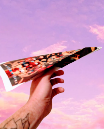 Make a Plane Take A Plane Imagination Insurance the Art Project banner